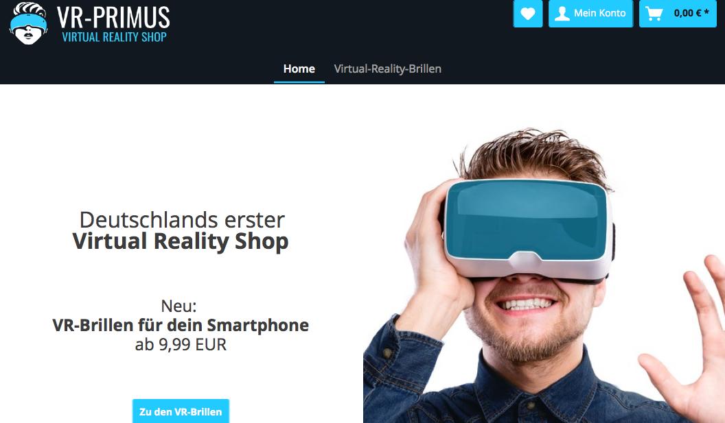 VR-Primus.de - Online Shop